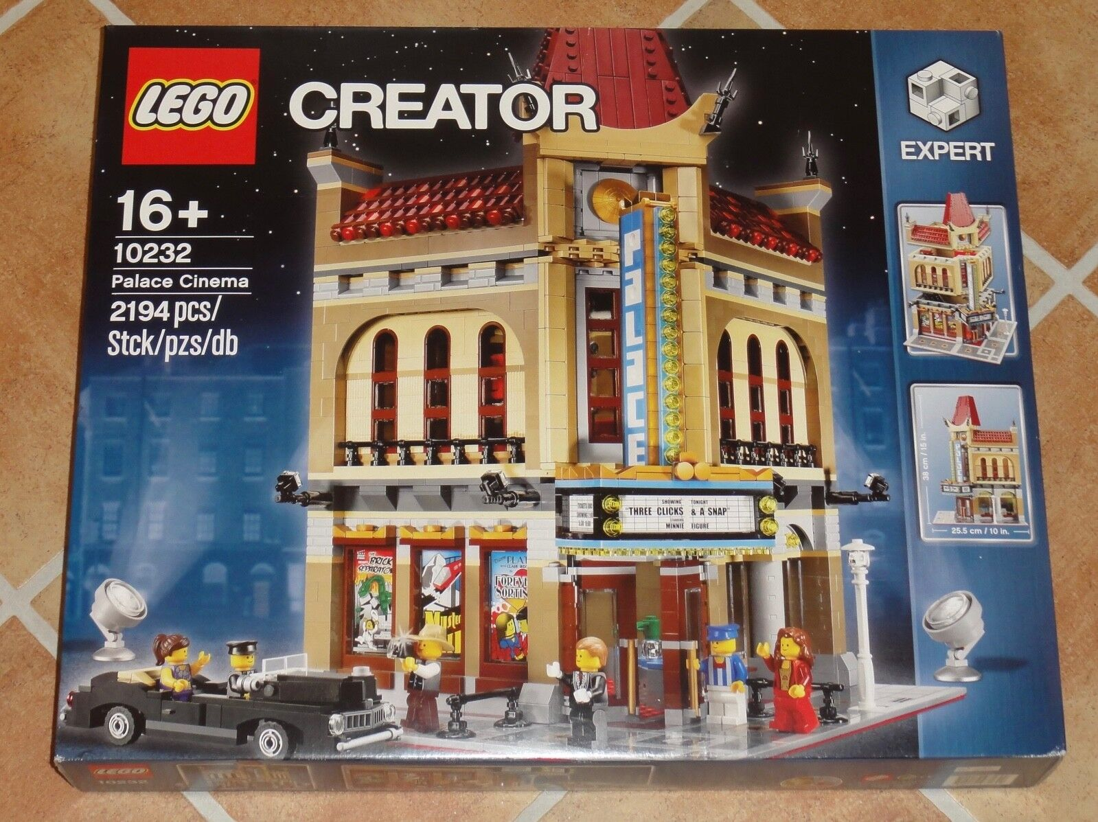LEGO ® 10232 Palace Cinema modulaire Building-New & Sealed