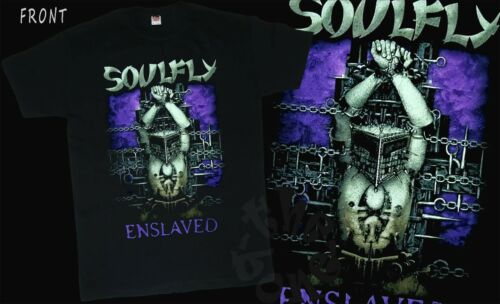 Enslaved SOULFLY T-shirt sizes S to 6XL American metal band