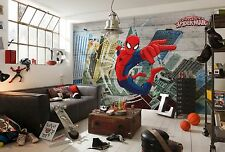 GIANT Wall Mural Photo Wallpaper SPIDER-MAN CONCRETE Kids Room Decor Art 368x254