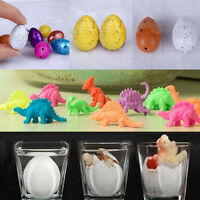 10pcs Child Kid Hatching Growing Dinosaur Egg Incubate Expand Water Toys Gift Us