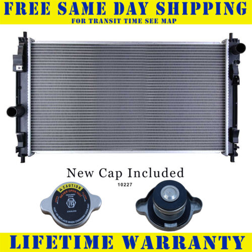 Radiator With Cap For Subaru Fits Legacy 2.2 H4 1183WC
