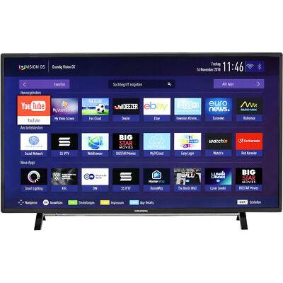 Grundig 49 VLX 7000 BP 4K/UHD LED Fernseher 123 cm [49 Zoll] HDR Schwarz