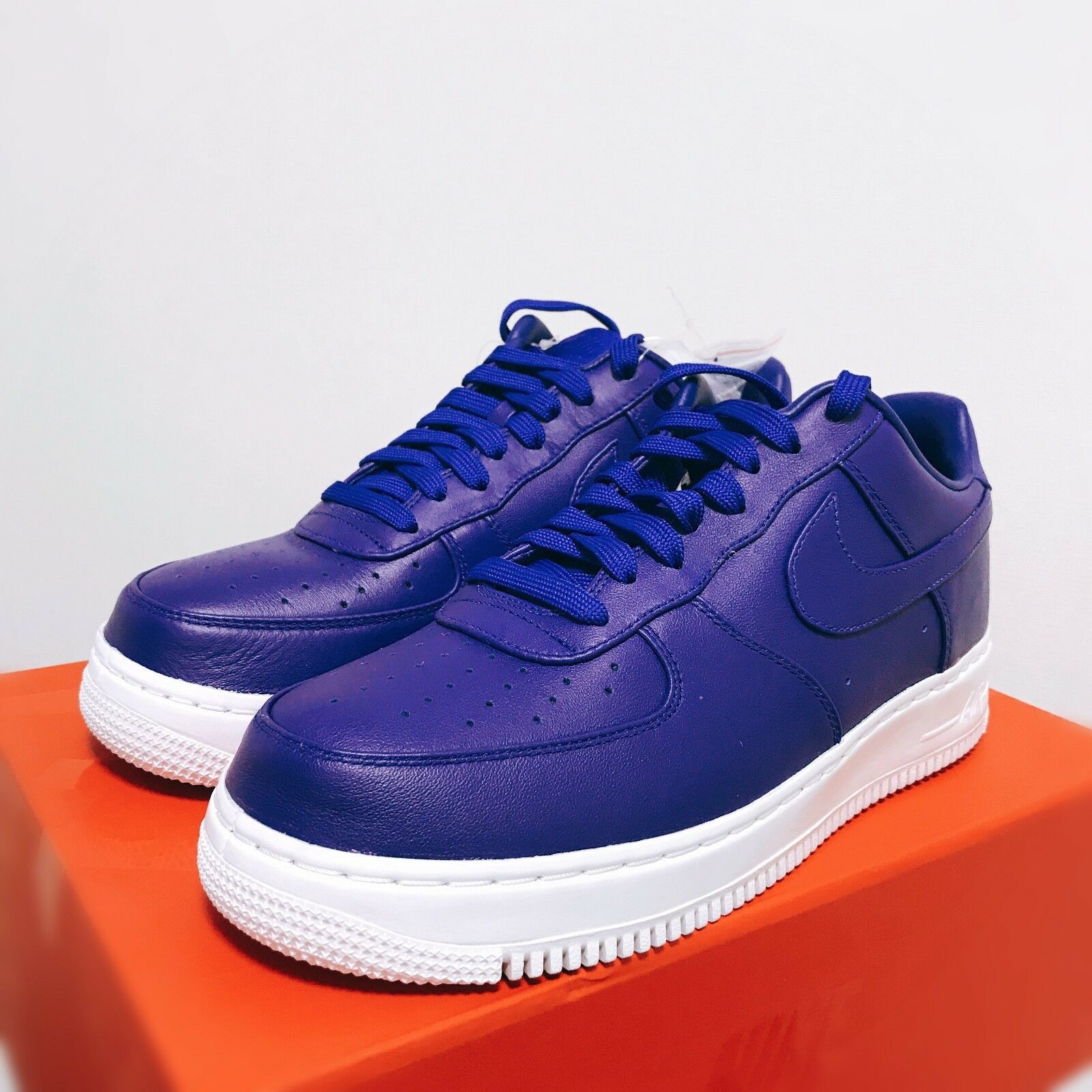Nike Lab Air Force 1 Low Concord Concord 555106-402 555106-402 555106-402 Größe 9 Limited 21ce6b