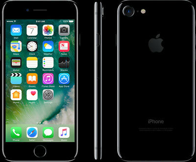 Apple iPhone 7 Plus - 128GB - Black (AT&T) Smartphone -New, Clean IMEI