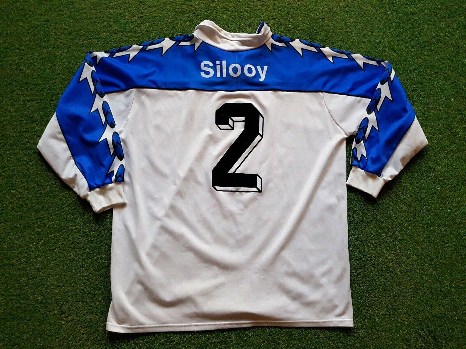 Arminia Bielefeld Maglia XL XXL Reusch 1996 1997 Shirt Jersey Gerry Weber Silooy