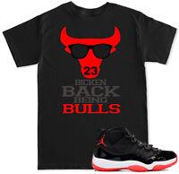 Bicken Back Yg 400 Bompton Shirt To Match With Jordan 11 Bred Retro 11 Red Shoes
