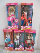 Barbie and the All Stars Barbie Christie Midge Ken Teresa Complete Set 1989 NRFB