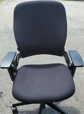 Steelcase Leap V2 Chair Black Fully Adjustable Office Desk Chair