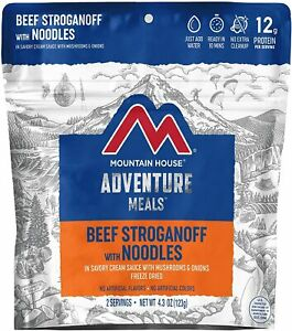 Mountain House Freeze Dried Survival, Backpacking & Camping Food   2 Servings