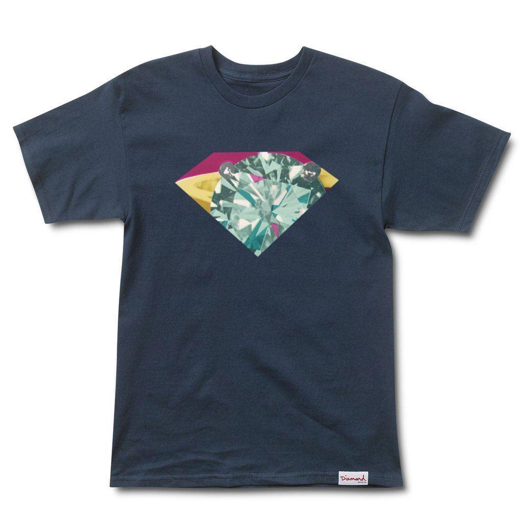Diamond Supply Co Union T-shirt blue