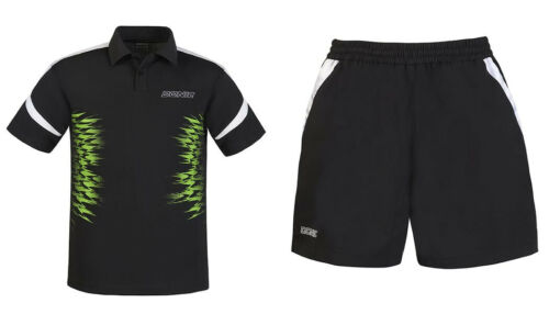 Donic Komplett Dress Poloshirt Air Short Radiate  Tischtennistrikot Badminton