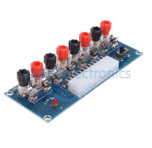 Desktop ATX 24pin Adapter Extension Power DC 3.3V 5V 12V Power Transfer Board