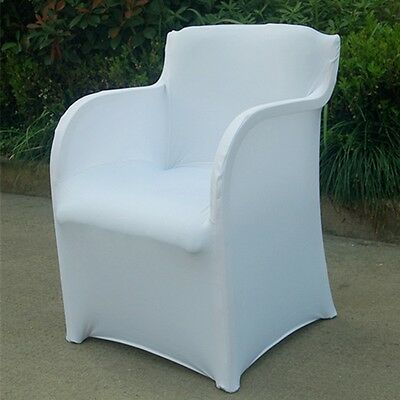 NEW Chair Cover Pure Color Stretch Armchair Protector Washable Office Slipcover