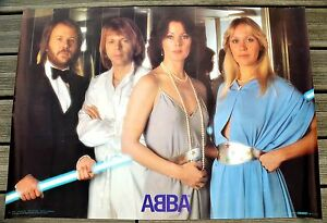 "ABBA original VOULEZ VOUS 1979 Scandecor poster - France - ABBA SCANDECOR SWEDEN POSTER""VOULEZ-VOUS "" 1979 original100x70cmgood condition PAYPAL NO BANKONLY PAYPALThanks. - France"