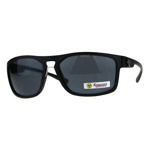 2e547e5b0fe2 Image is loading Biohazard-Mens-Sunglasses-Oval-Rectangular-Matte-Frame-UV-