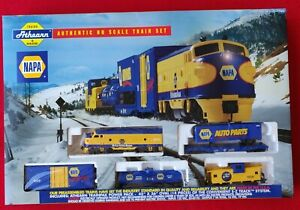 Athearn-Ho-Napa-Auto-Parts-Train-Set-1999