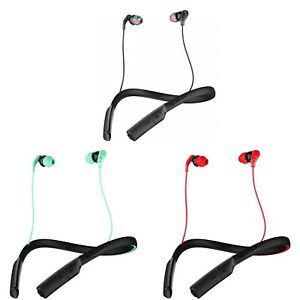 SKULLCANDY METHOD Wireless Bluetooth In-Ear Sport Headphones Earbud Mic 9 Hr Bat