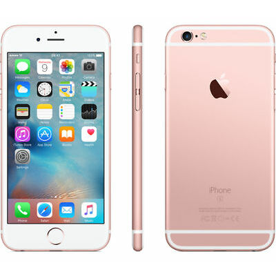 APPLE IPHONE 6S 64GB ROSE GOLD GRADO A/B + ACC. SMARTPHONE RICONDIZIONATO