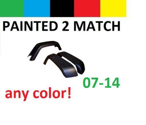 Pre-Painted To Match 07-14 Rear Right Passenger Fender Flare Jeep Wrangler JK