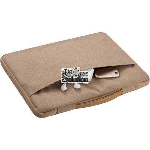 """Universal Sleeve Case Carrying Hand Bag Pouch For 10/"""" To 15/"""" Laptop Notebook"""