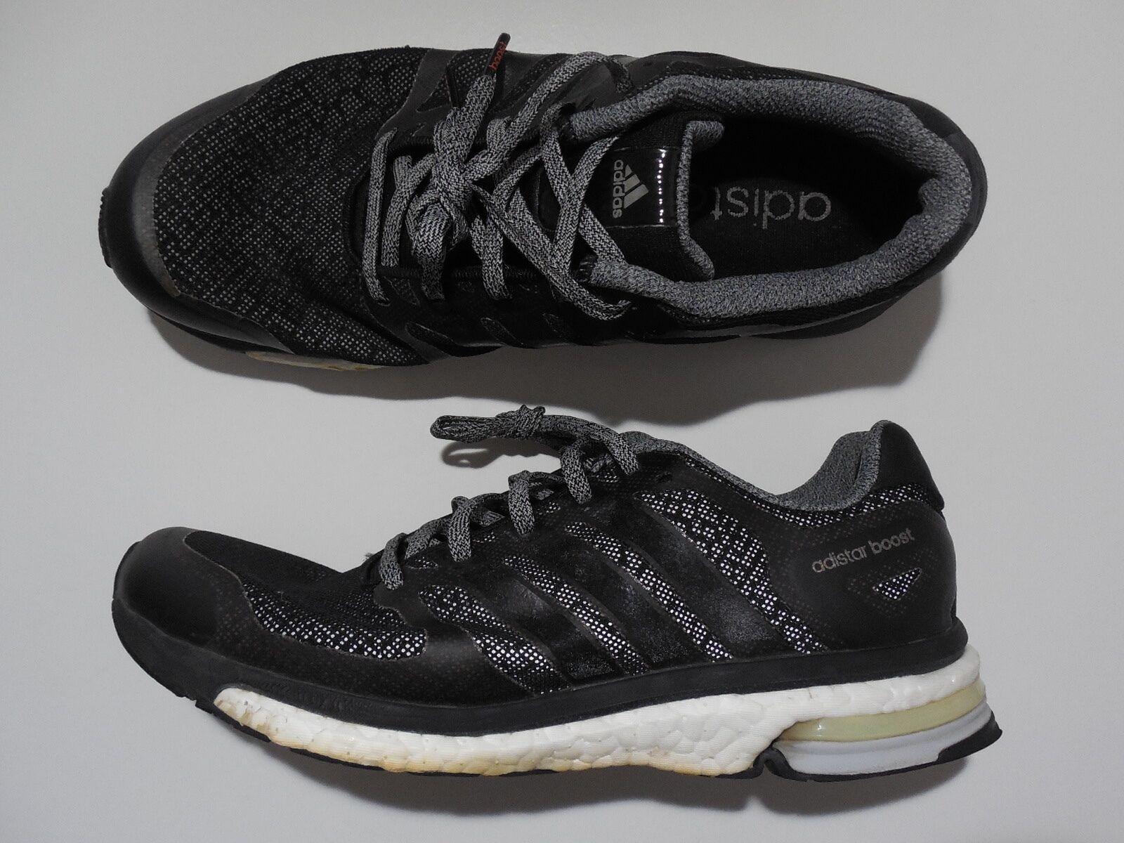 Adidas Adistar Boost M Glow 8.5 Mens Athletic Runining shoes Black Reflective