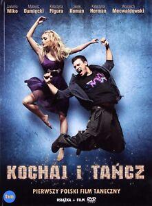 Kochaj-i-tancz-DVD-Bruce-Parramore-Shipping-Wordwide-Polish-film