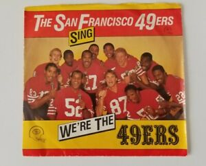 We-039-re-The-49ers-45-RPM-Record-sung-by-Dwight-Clark-Ronnie-Lott-etc-1984