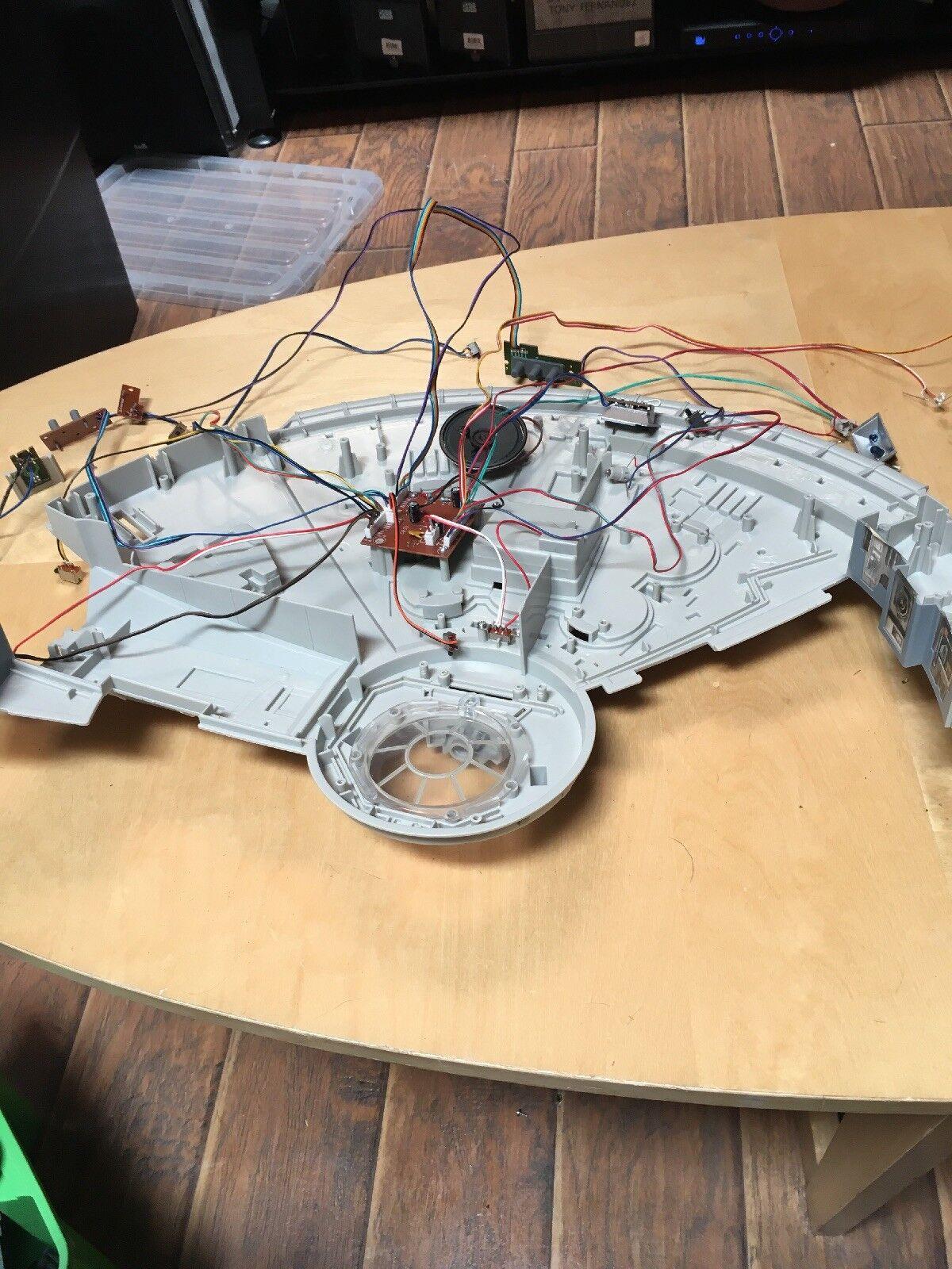Star wars legacy millennium - falken klangkörper elektronische licht das diorama