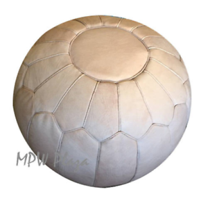 Phenomenal Pouf Ottoman Retro By Mpw Plaza Natural Stuffed Short Links Chair Design For Home Short Linksinfo