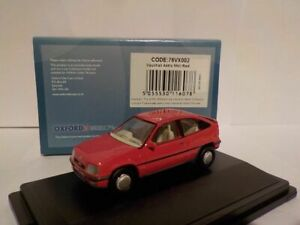 Model-Car-Vauxhall-Astra-MK2-Red-1-76-New