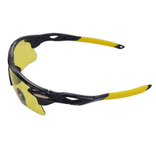 Herren Radfahren Sonnenbrillen Fahren Pilot Außen Sportbrille UV400 Gelb