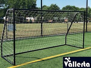 Vallerta Premier 12 X 6 FT. Regulation Size Soccer Goal w  TWO Nets ... 8ef97b529