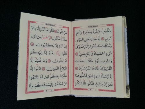 10X Yasin Bebek Sekeri Gastgeschenke BABY Allah Mevlüt Sünnet Gebetskette Kuran