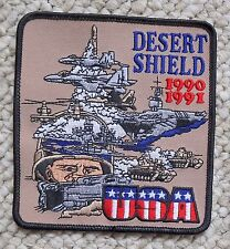 Operation Desert Shield Campaign War Military Iraq Kuwait Patch