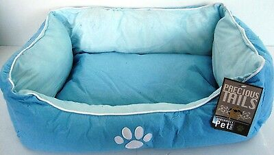 Precious Tails Ultra Soft Padded Pet Bed Dog Cat Bed White