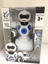 ELECTRIC SMART DANCING ROBOT 360° ROTATE WALKING TOY LIGHTS & MUSIC