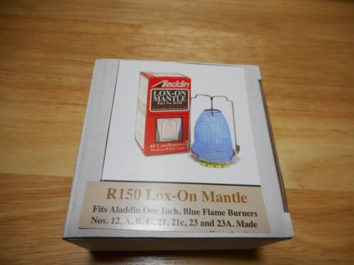 Aladdin Mantle Lamp   New Mantle In box R 150 Lox-On  For 12,A,B,C,21,21c,23,23A