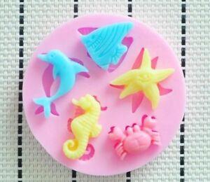 Sea-Animal-Icing-Fondant-Mold-Create-beautiful-Ocean-Themed-Cake-Decorations