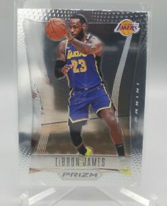 2020-21 NBA Prizm Lebron James Flashback #6 - Los Angeles Lakers SP