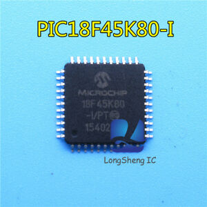 1pcs-PIC18F45K80-I-PT-QFP44-18F45K80-nouveau