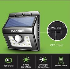 8 LED Solar Light Motion Sensor Wall Light Weatherproof Security Outdoor Light