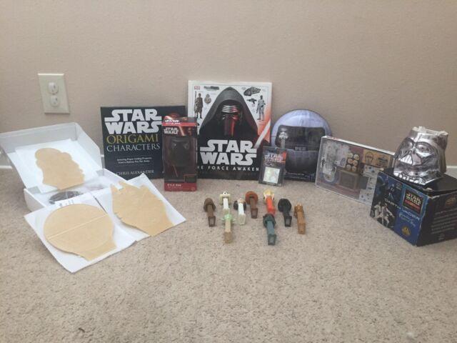 Star Wars Laminated Corner Bookmarks (BB8, R2D2, C3PO, Darth Vader ... | 480x640