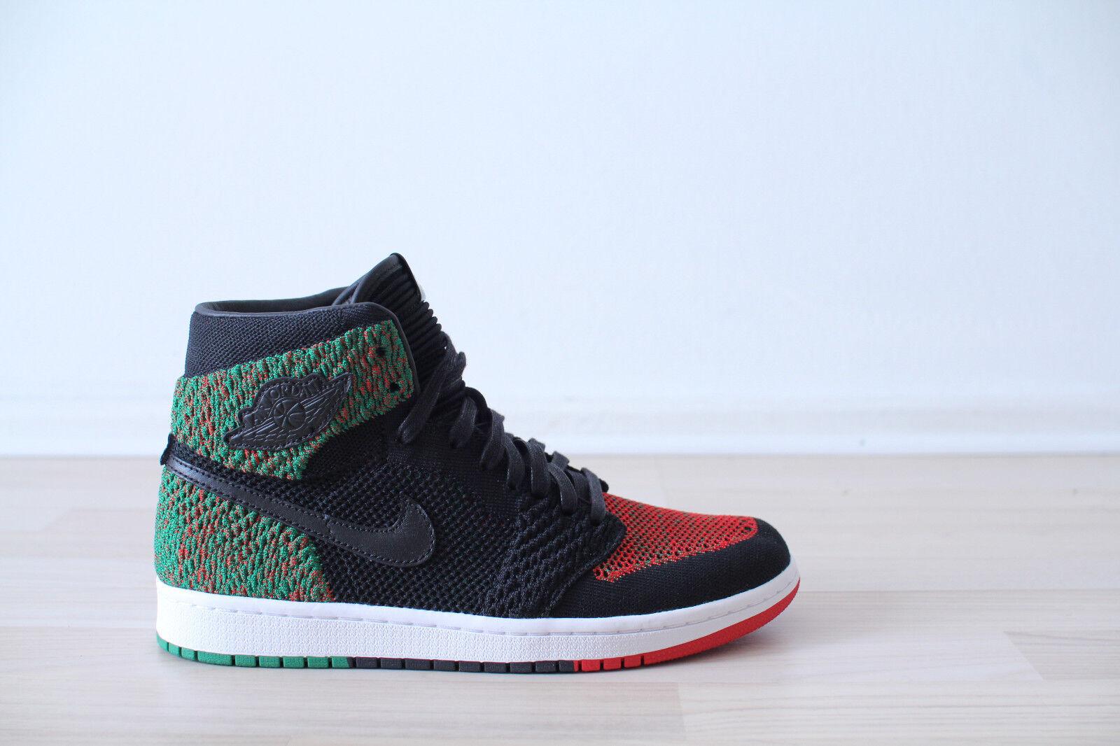 Nike Air Jordan 1 Flyknit BHM black Multicolor Gr. 40,41,44,45,47,48 NEU & OVP