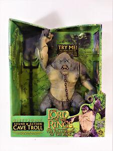 Le Seigneur Des Anneaux - Lotr Troll Cavernes Neuf Marque Toybiz
