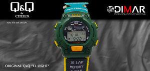 Vintage Watch Q&Q The Light. 9923, Wr 5m. Lap Memory 10. (M 114 002)