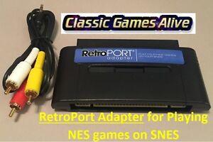 RetroPort-Adapter-Nintendo-NES-to-Super-Nintendo-SNES-Cartridge