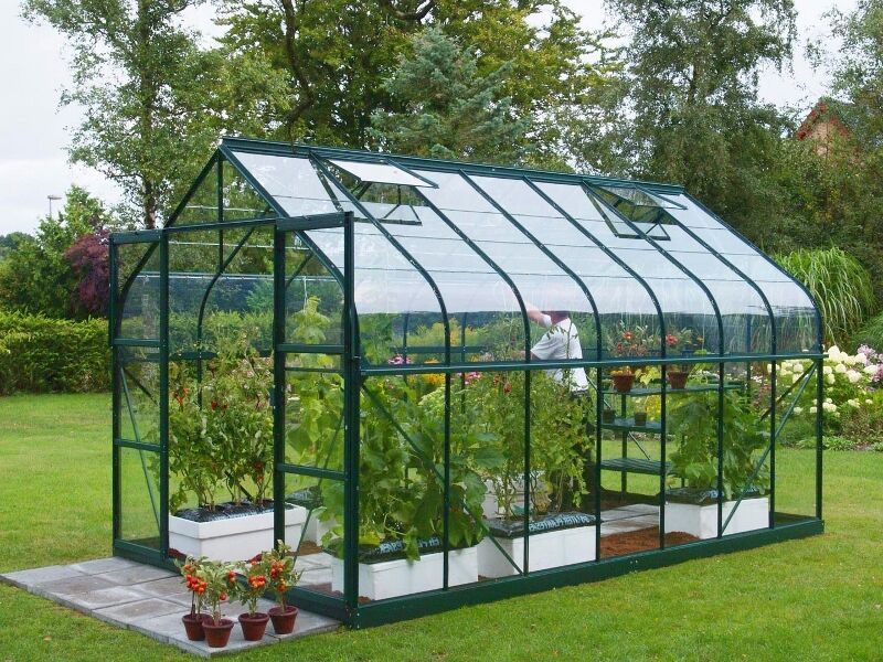 clear acrylic perspex plastic shed window greenhouse