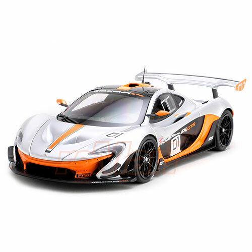 Quasi reale 118 Diecast McLaren P1 GTR Pebble Beach auto modellololo scala  840101