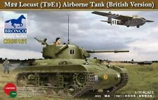 Bronco 1/35 M22 Locust (T9E1) Airborne Tank (British Version) # CB35161