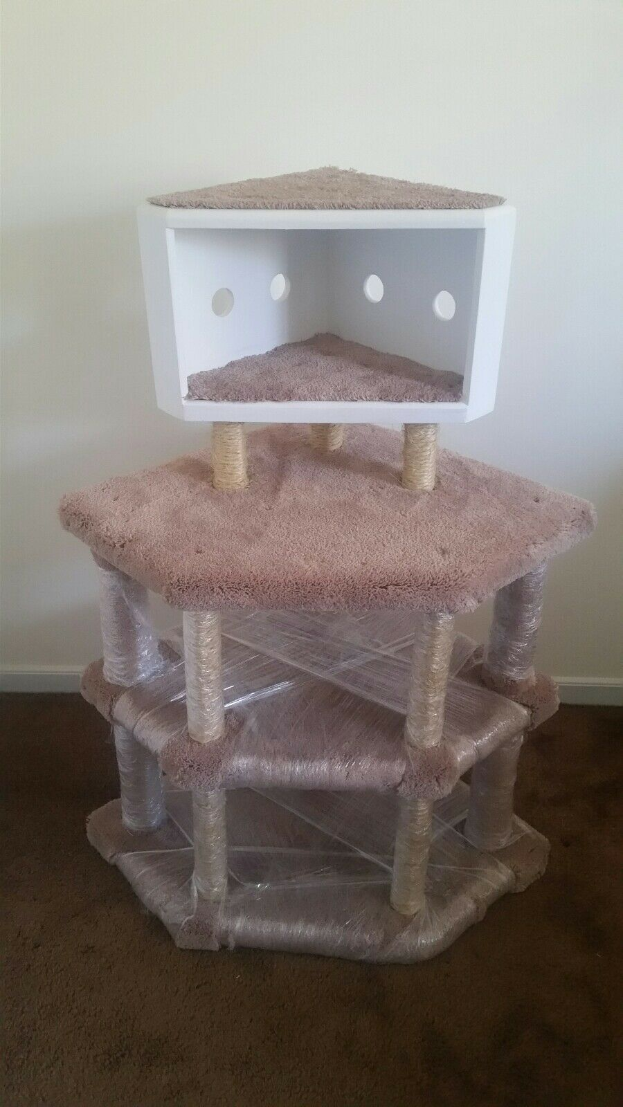 Cat Tree Condo Trees House Stand Furniture corner + big Gift